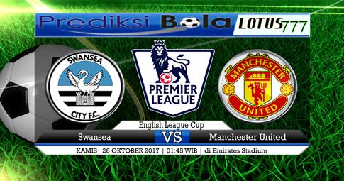 PREDIKSI SKOR Swansea vs Manchester United 25 OKTOBER 2017