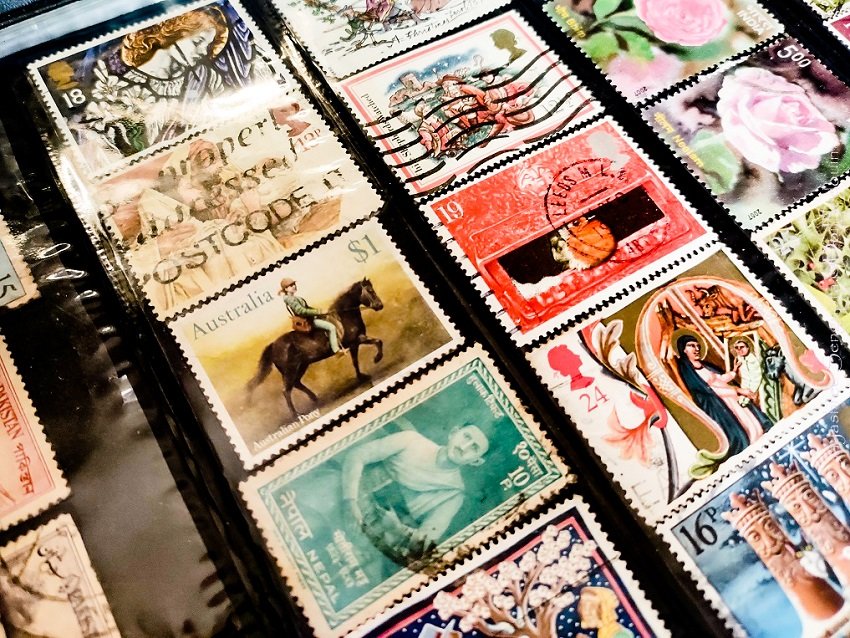 Things to do in covid quarantine- collect stamps, philately @doibedouin