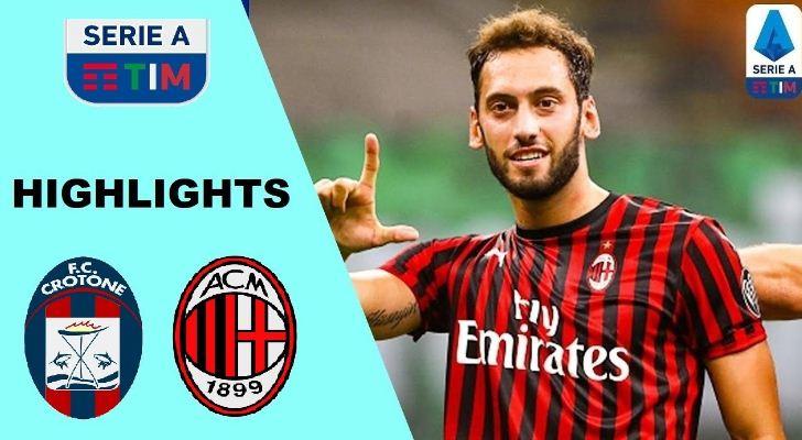 Crotone vs Milan 0–2 Highlights