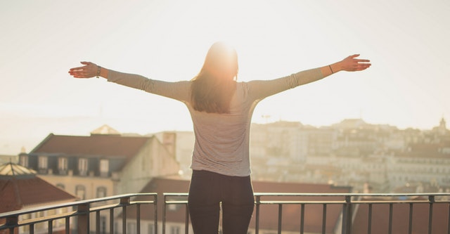 The Healthy Programmer - a healthy women with good morning