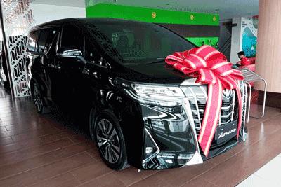 Toyota Alphard Vellfire Model 2019
