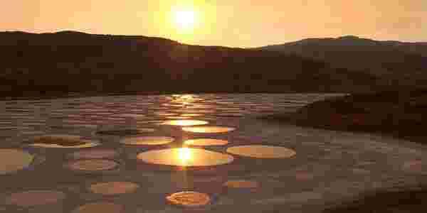 البحيرة المرقطة في كندا