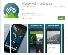 Wonderwall Best Photo download App