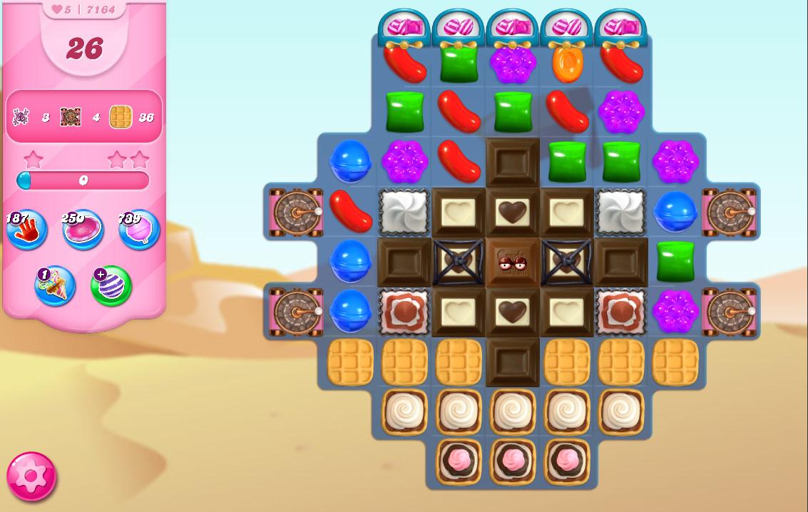 Candy Crush Saga level 7164