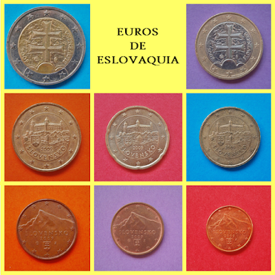 Euros de Eslovaquia