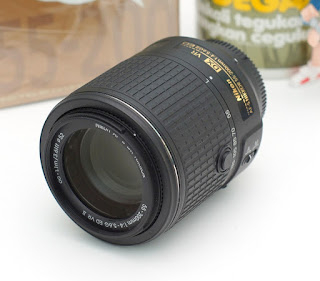 Jual lensa Nikon 55-200mm VR2 2nd