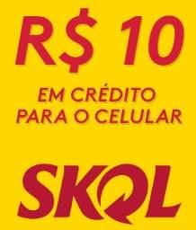 Cadastrar Promoção Skol Conecta 10 Reais Crédito Celular Resgatar