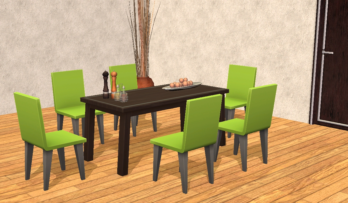 TheNinthWaveSims: The Sims 2 - The Sims 4 Cool Kitchen ...