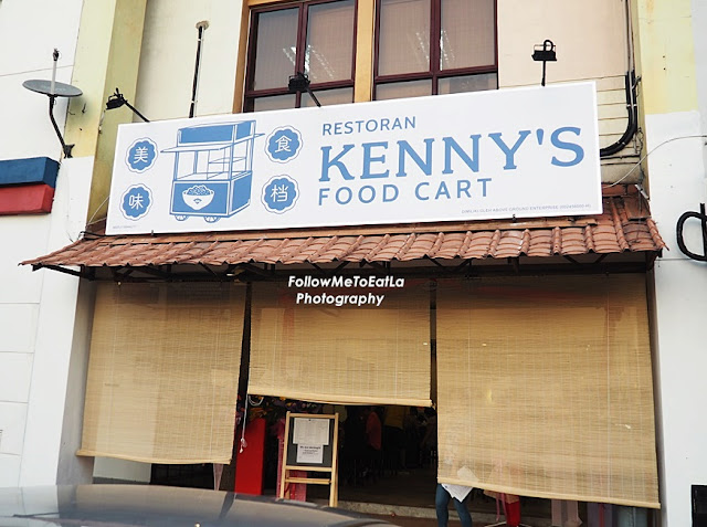 Kenny's Food Cart At Aman Suria Petaling Jaya