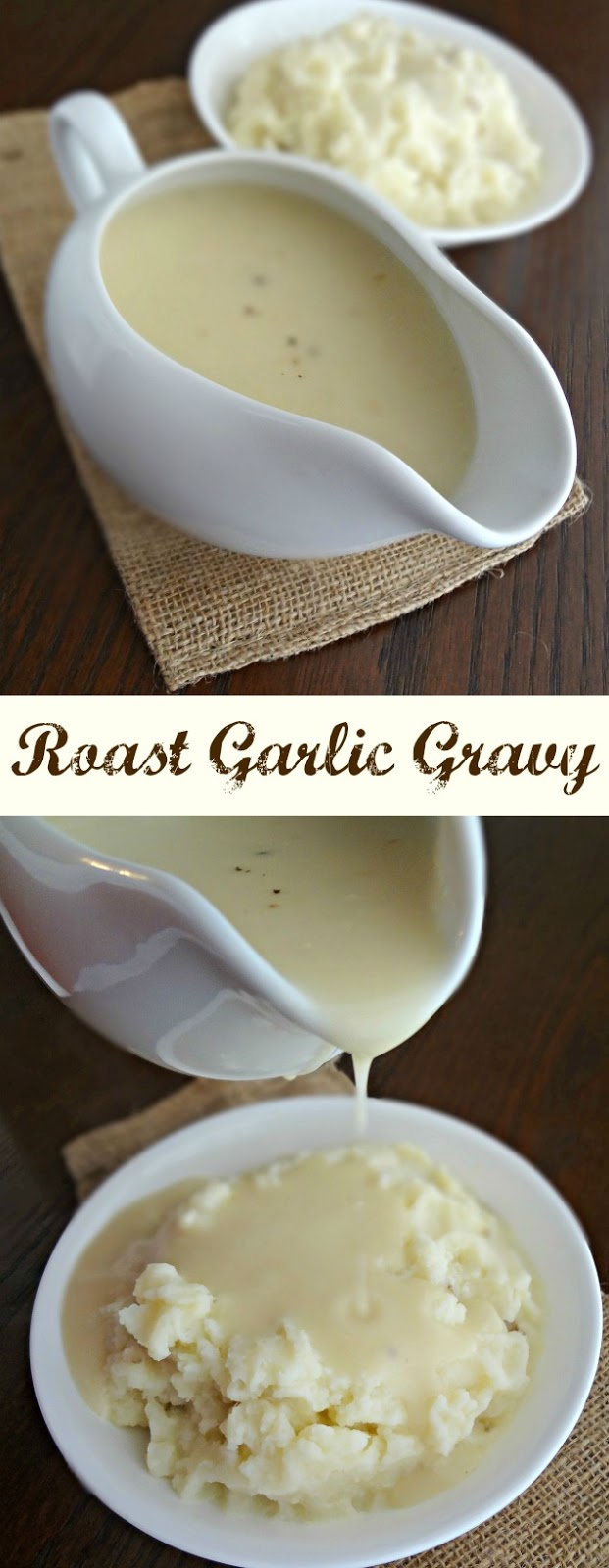Roast Garlic Gravy