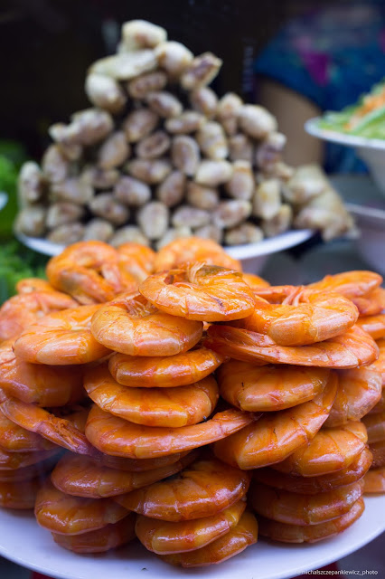 Specjały Wietnamu - owoce morza