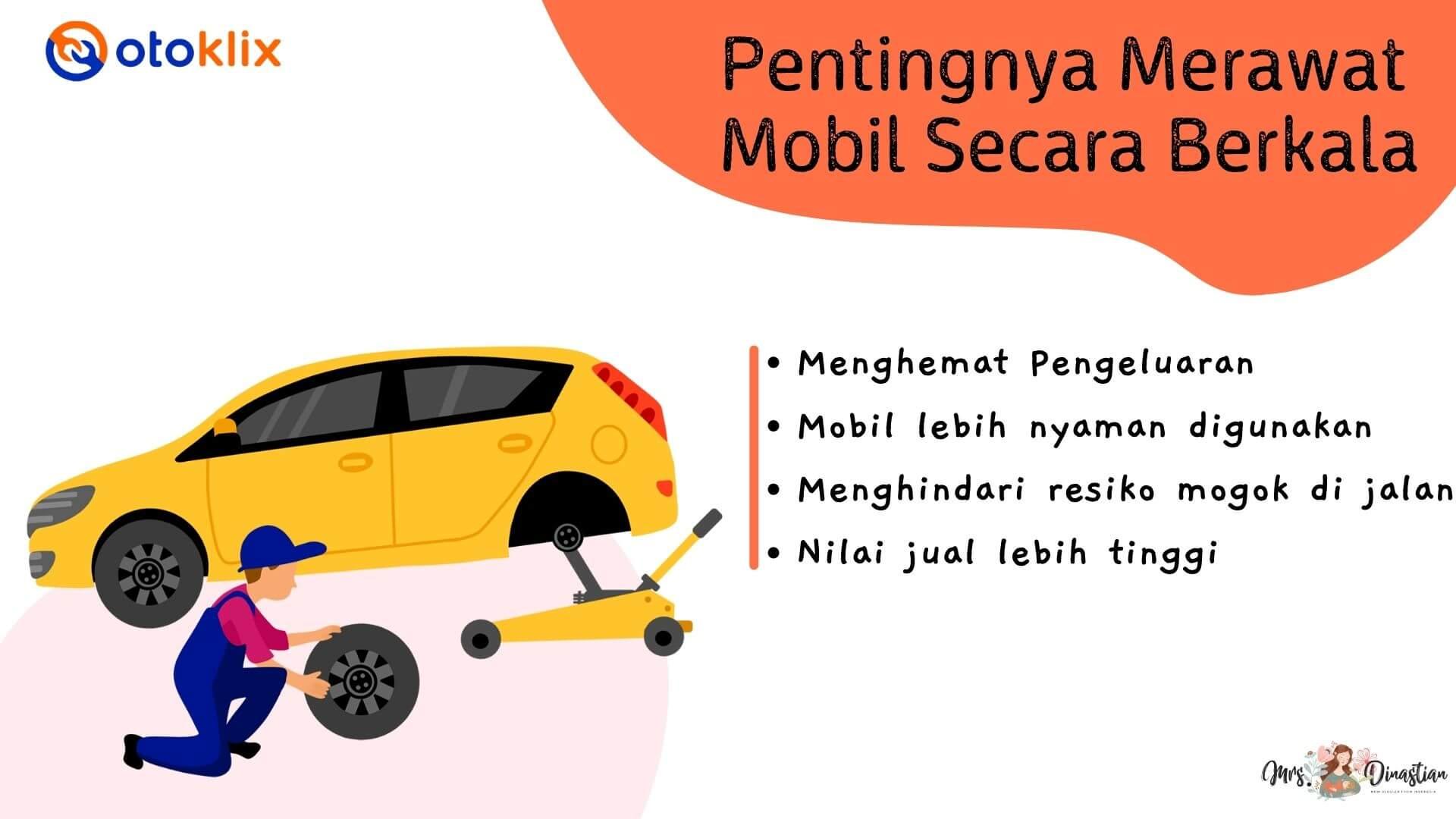 Pentingnya Melakukan Perawatan Mobil Berkala