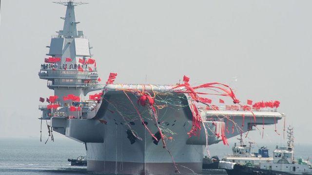 """""""Пипи Ся"""": китайцы на общенациональном голосовании выбрали имя авианосцу"""