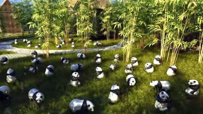 O louco parque temático Disneyland chinês! Pode ser visto aqui