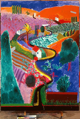 David Hockney - Nichols Canyon,California,1980.