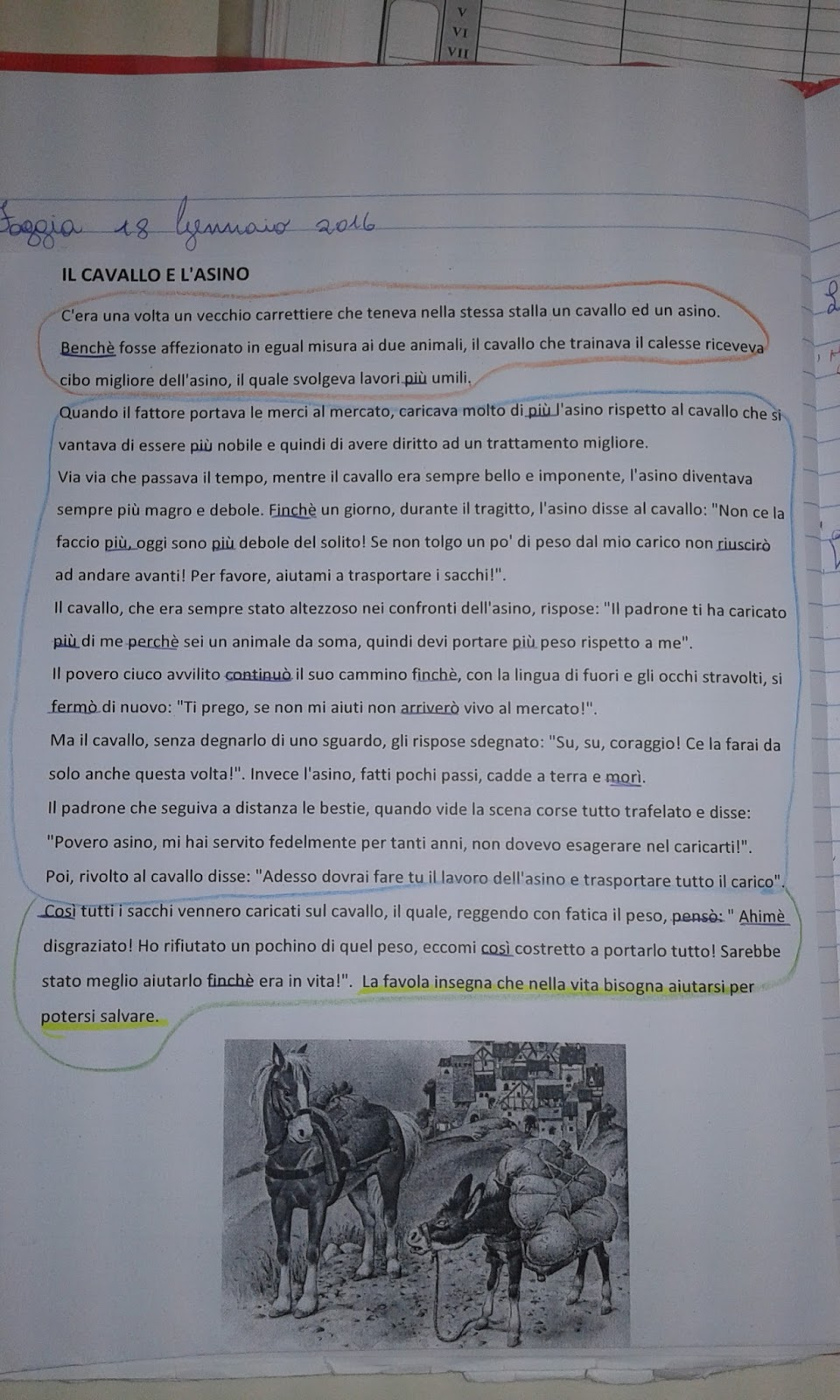 Eccezionale Quaderni Di Italiano Classe Quarta Maestra Patrizia ZW64  TO05