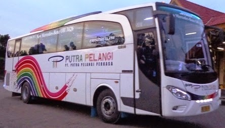 Harga Tiket Bus Putra Pelangi Perkasa E Transportasi Com