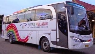 Harga Tiket Bus Putera Pelangi Perkasa, CV.Pelangi, dan New Pelangi