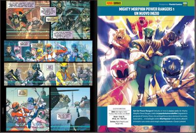 Power Ranger fumetti