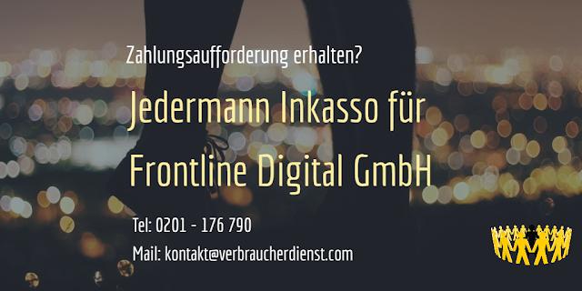 Jedermann Inkasso | Frontline Digital GmbH