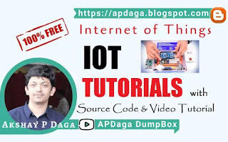 All Internet of things (IOT) Tutorials in sequence using Arduino, NodeMCU & Raspberry Pi