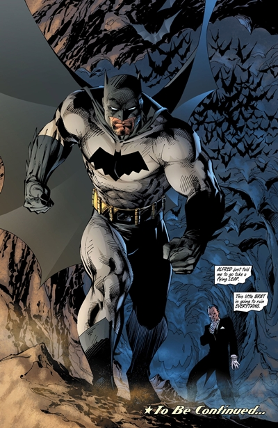 Batman dibujado por Jim Lee en All Star Batman and Robin