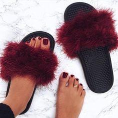 f42458310399 Do It Yourself  Fur Slides - Frugal Shopaholics