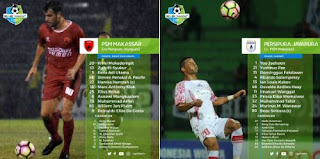 Hantam Persipura 5-1, PSM Kian Mantap di Puncak Klasemen Liga 1
