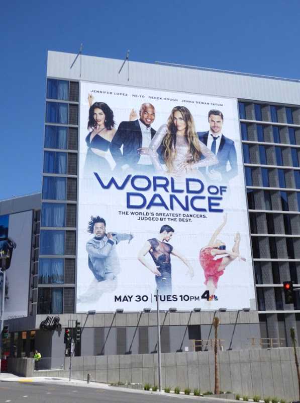 Giant World of Dance series premiere billboard