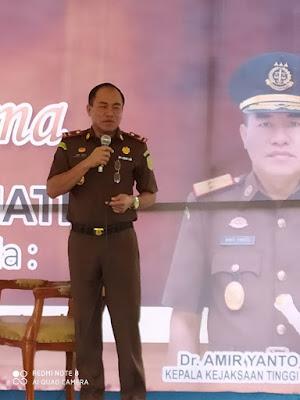 Kepala Kejaksaan Tinggi Sumatera Amir Yanto