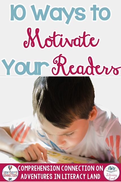 Do your students love book projects? Check out this post for 10 ideas you can use to spark reading motivation!