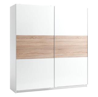 Tủ Quần Áo Sattrup Plus Cánh Trượt JYSK 3620918 (200 x 219 x 60 cm)