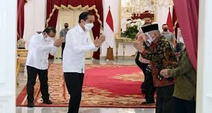 Temui Presiden Jokowi, Amien Rais Bahas HAM FPI