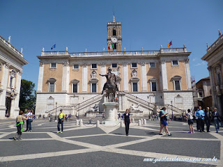 Museus Capitolinos praca capitolio roma turismo roma guia - A acrópole de Roma: Capitólio