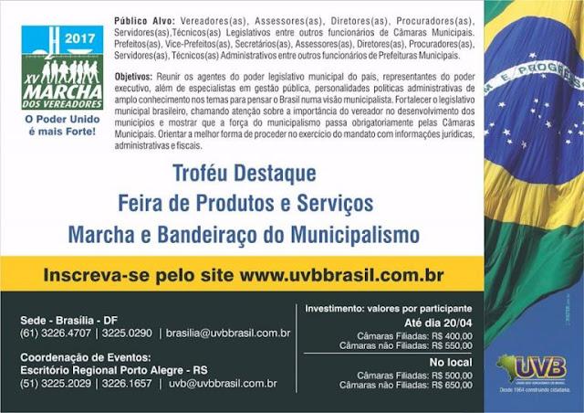 uvb brasilia 2017