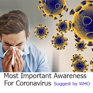 Most Important Awareness For Coronavirus