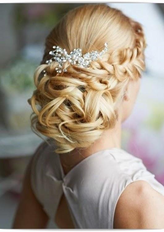 Britisch Style romantische Brautfrisuren