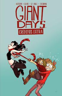 GIANT DAYS: CRÉDITOS EXTRA