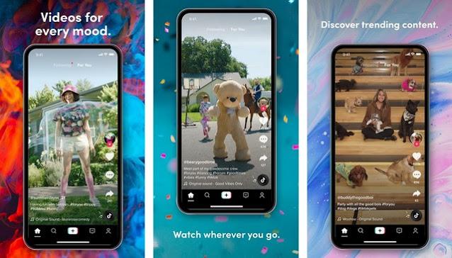TikTok - أفضل تطبيقات التواصل الاجتماعي للاندرويد