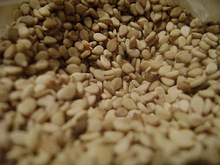 semillas de sésamo, calcio
