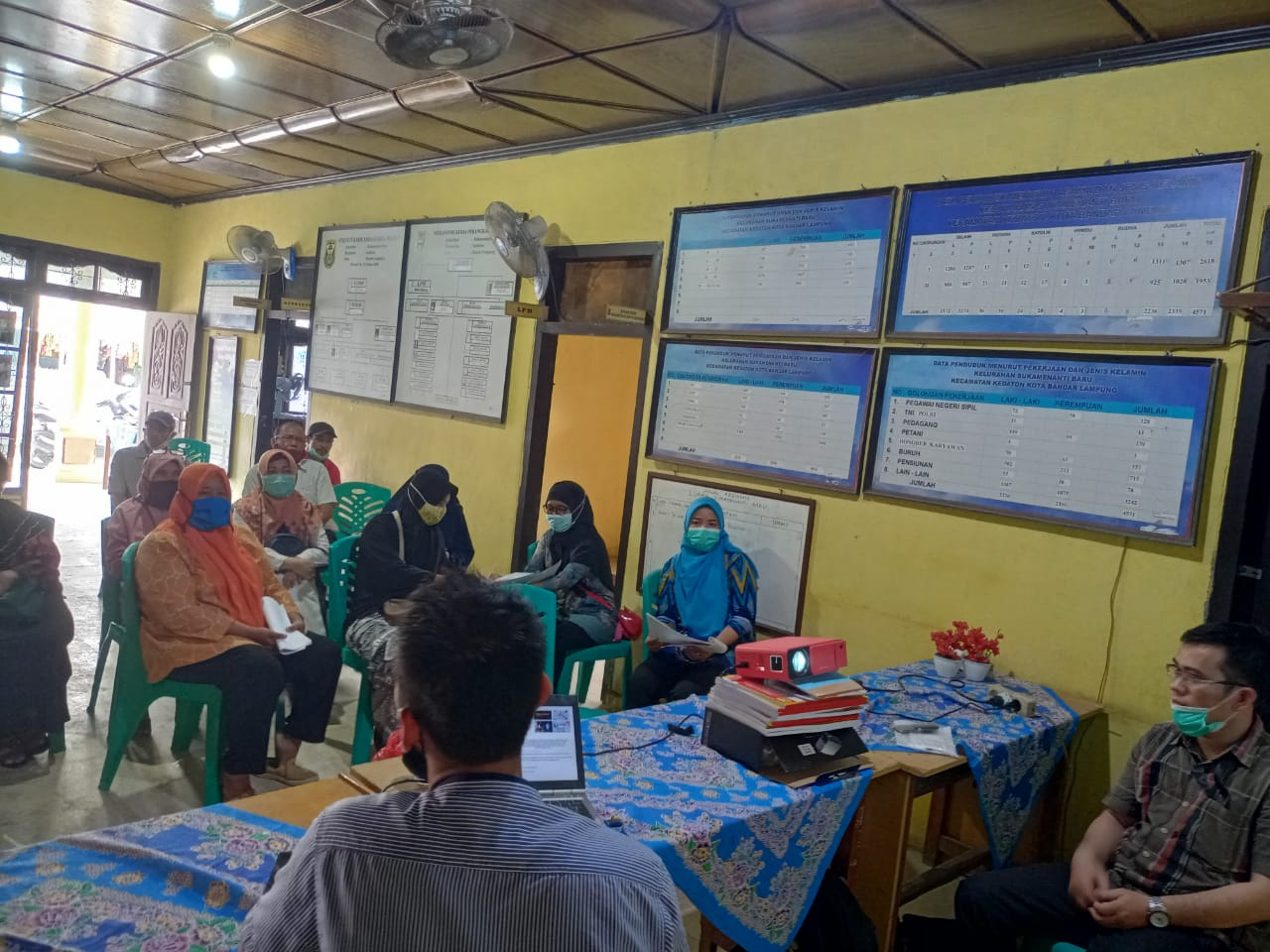 IndoSpace.Net Sosialisasi Program Pemberdayaan Masyarakat dengan Warga Kelurahan Sukamenanti, Kedaton, Bandar Lampung