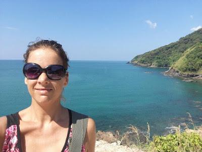 Foto van Ellis met een uitzicht van Mu Ko Lanta National Park