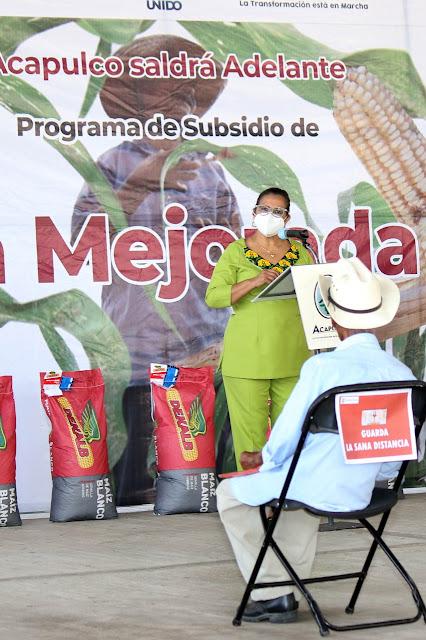INCENTIVA GOBIERNO DE ACAPULCO PRODUCCIÓN AGRÍCOLA