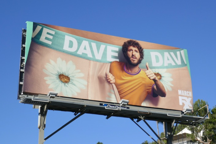 Dave series premiere billboard