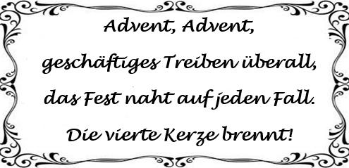 Ein Kleiner Blog Gedicht Zum Advent