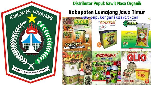 Distributor pupuk buah sawit Nasa Organik wilayah Kabupaten Lumajang Jawa Timur (JATIM).