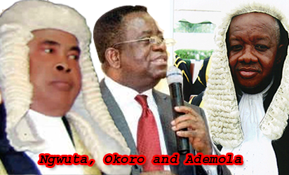 Judges whose homes were raided by DSS