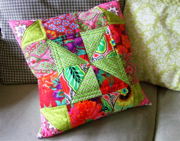 Be Pretty By Beate: Patchwork-Kissen