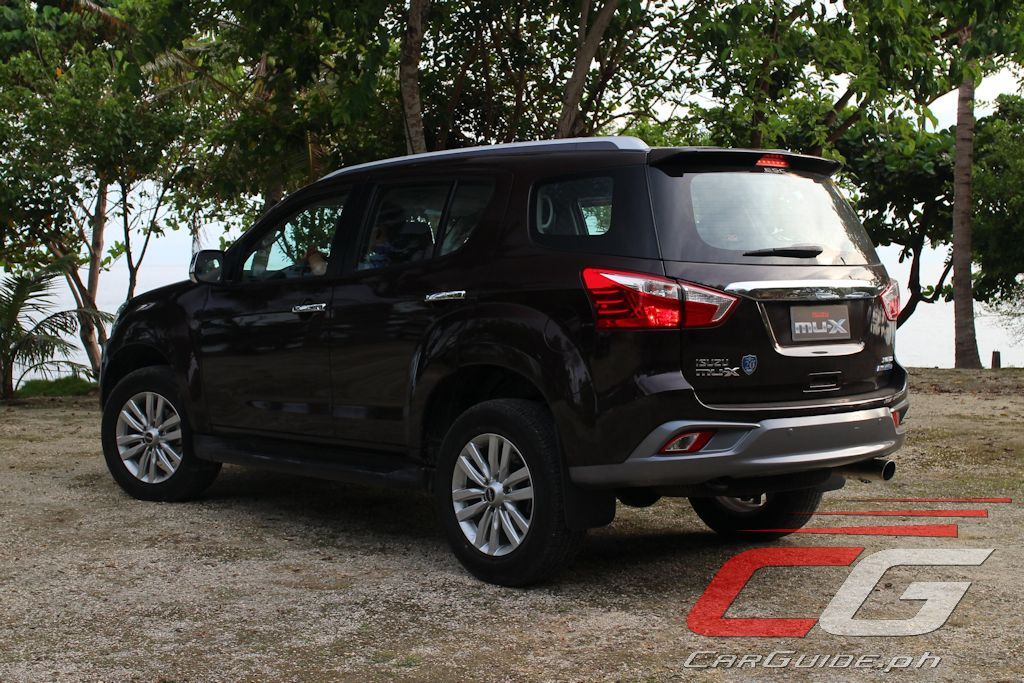 First Drive 2018 Isuzu Mu X 4x2 Ls A Blue Power Philippine Car