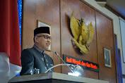 Plt Gubernur Hadiri Rapat Paripurna Penyampaian Pendapat Gubernur Aceh